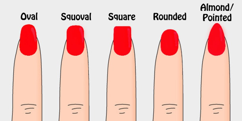 How to choose your nail shapes