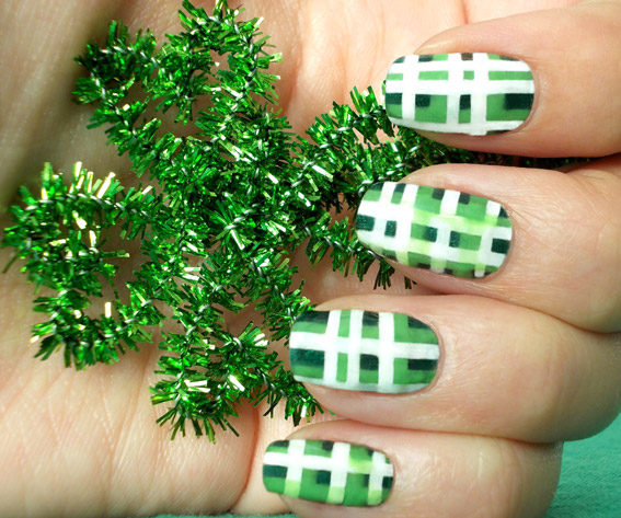 Saint Patricksday Nail Art