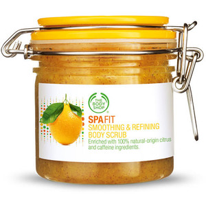Body Shop Spa Fit Scrub Product Review