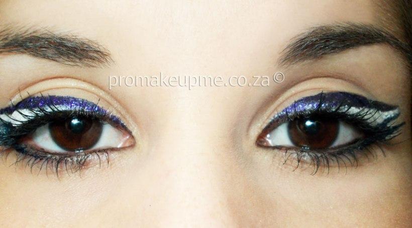 colour blocking Eye MakeUp