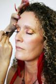 Red Gold Belly Dancing Stage MakeUp liquid liner
