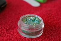 Green Belly Dancing Stage MakeUp Glitter
