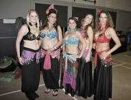 Belly Dancing Stage MakeUp outfits