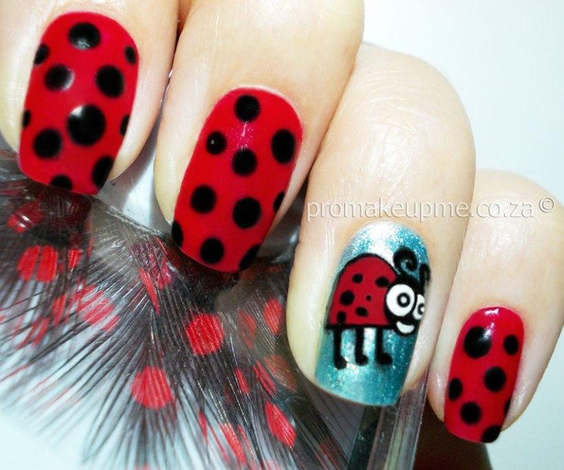 Ladybug Nail Art Ladybird