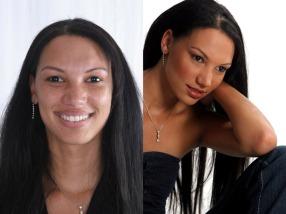 Jo-waynne De Villiers Before & After Hair and MakeUp Artist Blouberg Cape Town Durbanville