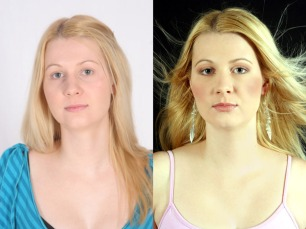Jolanie Laubsher Before & After Hair and MakeUp Artist Blouberg Cape Town Durbanville