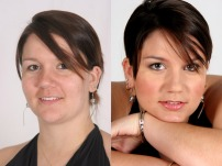 Lizelle Potgieter Before & After Hair and MakeUp Artist Blouberg Cape Town Durbanville