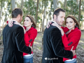 Cindy Engagement Shoot Airbrush Makeup Couple