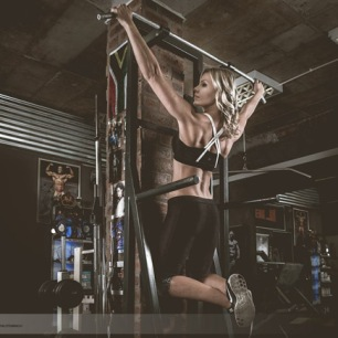 Dante Fitness Shoot back muscles