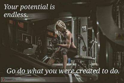 Dante Fitness Shoot endless potential