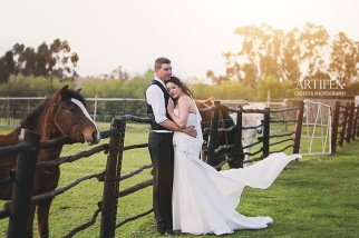 Anzel wedding Airbrush MakeUp couple