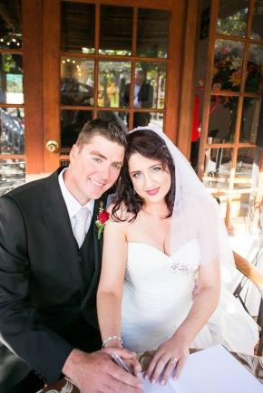 Anzel wedding Airbrush MakeUp newlyweds