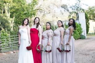 Anzel wedding bridesmaids MakeUp