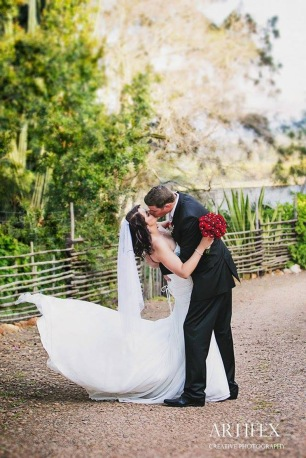 Anzel wedding MakeUp newlyweds