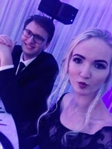 Romayne Matric Ball MakeUp Couple Selfie