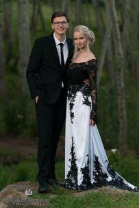 Romayne Matric Ball MakeUp Couple