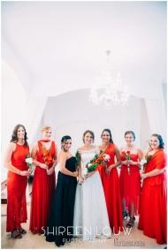 Adeline Wedding MakeUp Bridesmaids dresses