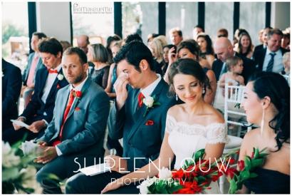 Adeline Wedding MakeUp ceremony