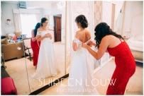 Adeline Wedding MakeUp Dress