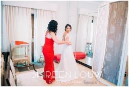 Adeline Wedding MakeUp dressing room