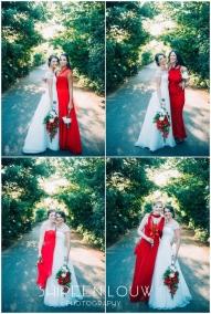 Adeline Wedding MakeUp flowers