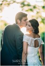 Adeline Wedding MakeUp Kiss