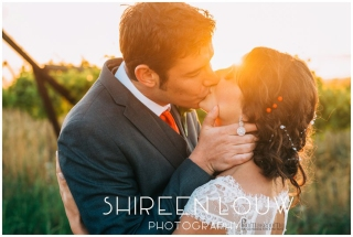 Adeline Wedding MakeUp Sunset