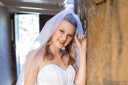 Amy Bridal MakeUp Veil