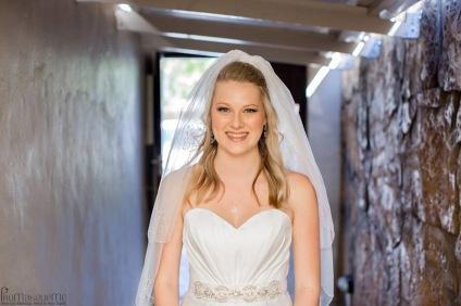 Amy Wedding MakeUp Veil