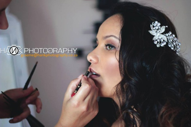 Angeline Wedding Airbrush MakeUp Hair