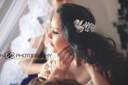 Angeline Wedding MakeUp Hair