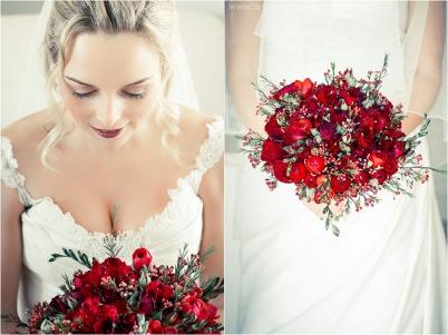 Clarissa Wedding MakeUp Flowers