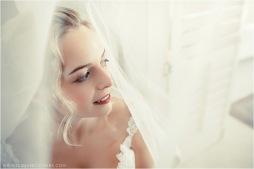 Clarissa Wedding MakeUp Veil