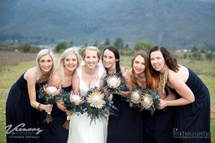 Mari Wedding Airbrush MakeUp Bridesmaids