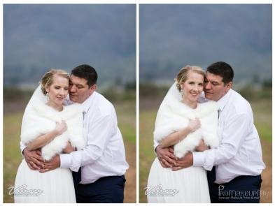 Mari Wedding MakeUp Happy Couple