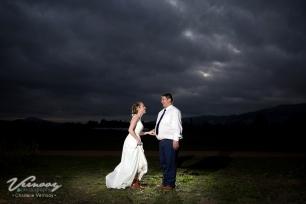 Mari Wedding MakeUp Night Sky