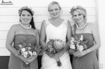 Natalie Wedding Bridesmaids MakeUp Flowers