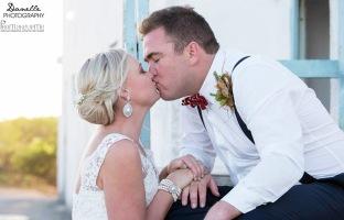 Natalie Wedding MakeUp Kiss