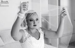 Natalie Wedding MakeUp Veil