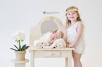 Madali Newborn Shoot Airbrush MakeUp Sister