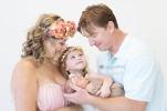 Madali Newborn Shoot MakeUp Family