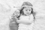 Madali Newborn Shoot MakeUp Sister