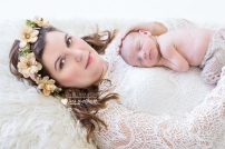 Jamien Newborn Shoot Airbrush MakeUp Hair